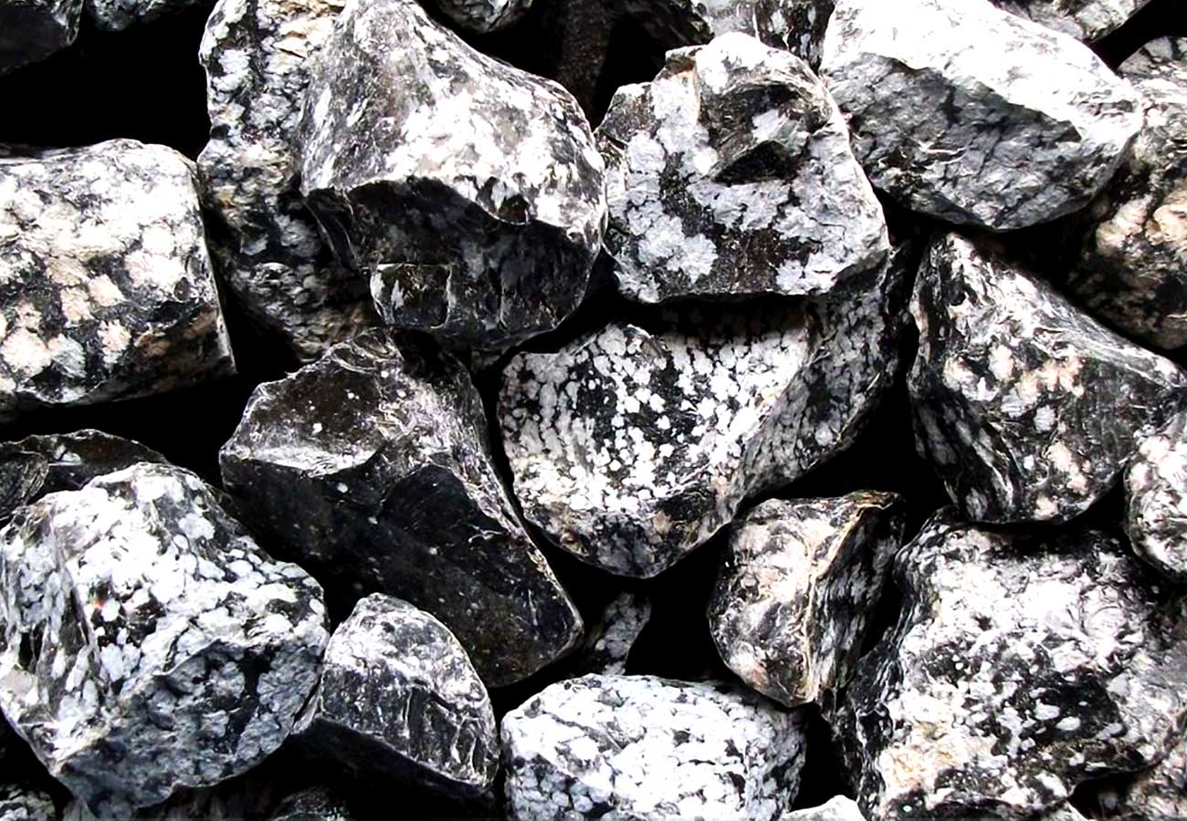 properties gemstone and meanings qualities gem snowflake obsidian mea